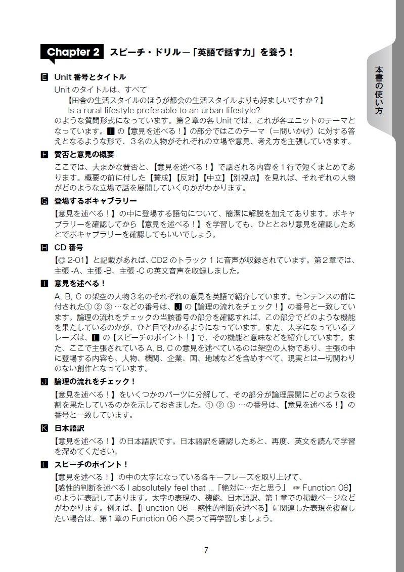 スピーチ 例文 英語