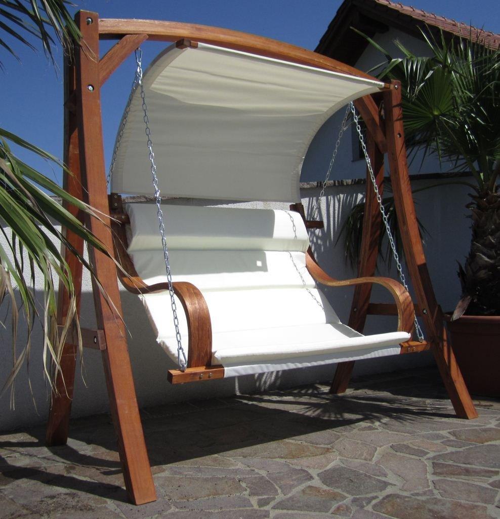 HM101 MERU Progettazione dondolo giardino altalena amaca modello di larice di legno