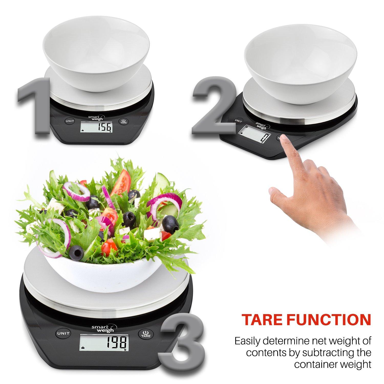 Smart Weigh Bascula Multifuncional para Cocina y comida con ...