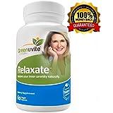 Relaxate anti-anxiété - Complément anti-stress et anti-anxiété 100 % naturel - 60 capsules végétariennes - Votre meilleur complément à base de plante contre les crises d'angoisse et la dépression. Complément apaisant et relaxant