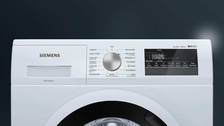 Siemens iQ300 WM14N140 Independiente Carga frontal 6kg 1400RPM A ...