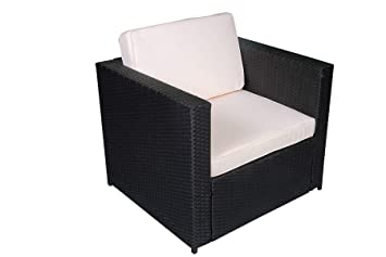 Mcombo in rattan sedia da giardino poltrona sedia da giardino