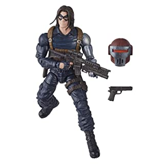 Marvel Hasbro Black Widow Legends Series 6-inch Collectible Winter Soldier Action Figure Toy, Premium Design, 2 Accessories, Ages 4 and Up