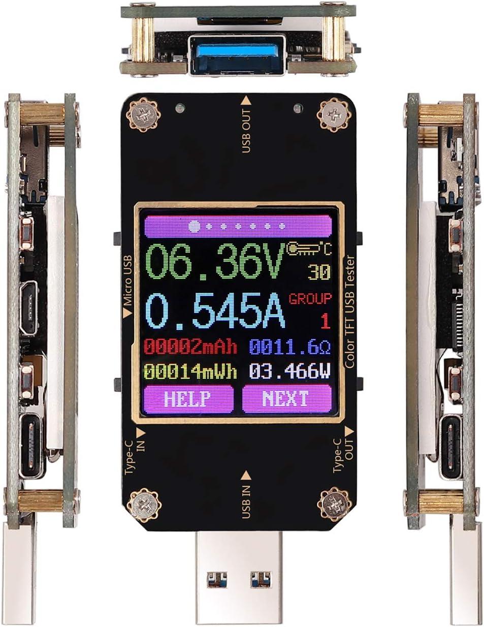 Esynic Usb Power Meter Tester Bluetooth Usb Tester Elektronik
