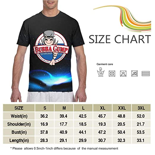 Amazon com: GladysHWatchman Men's T Shirts Bubba Gump Shrimp