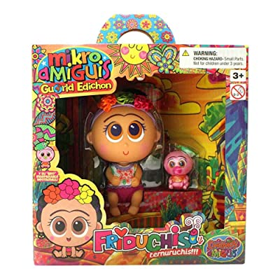 Distroller Neonate Nerlie Frida Kahlo Baby Doll Nerlie World Edition Ksimerito Edition in Spanish Friduchis: Toys & Games