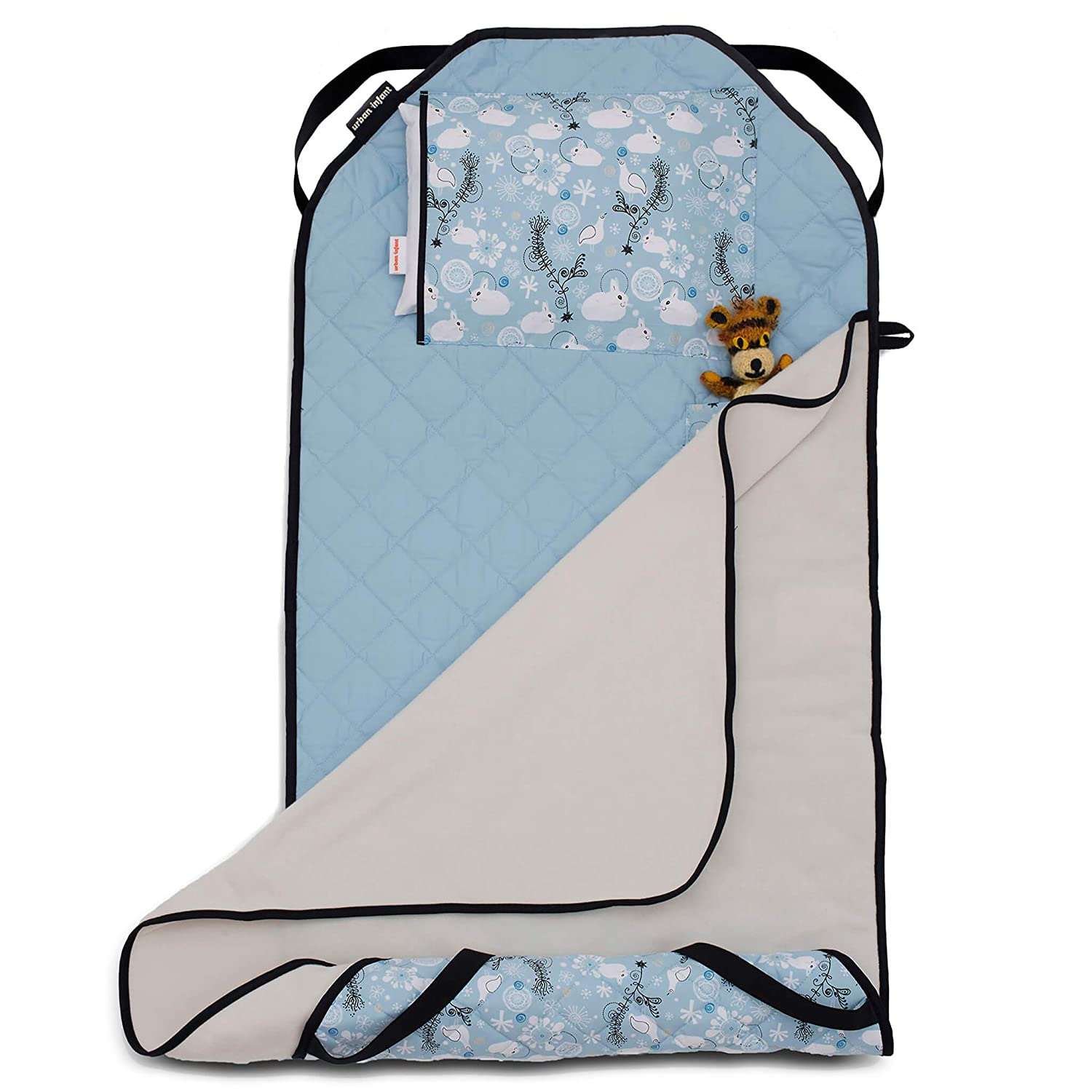 Bears Urban Infant Tot Cot All-in-One Modern Preschool//Daycare Nap Mat with Elastic Corner Straps