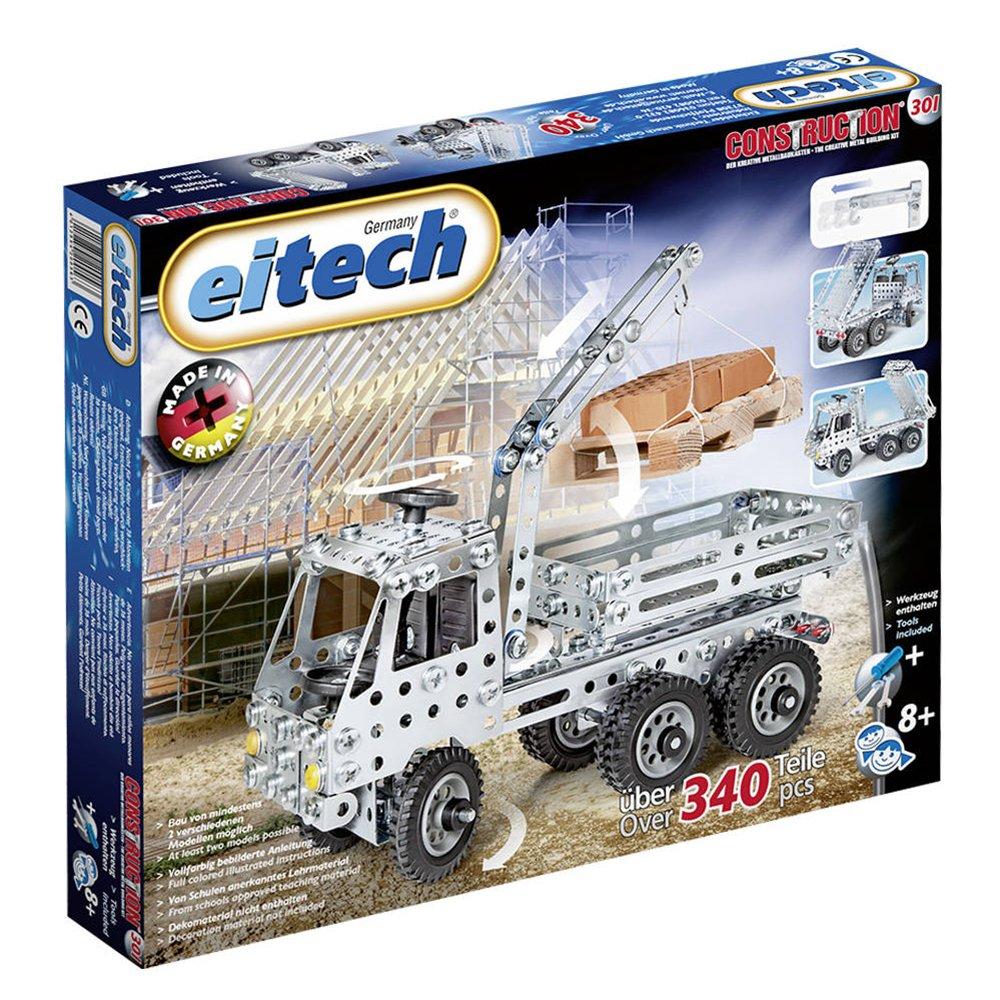 'eitech 00301–costruzione in metallo Camion con cassone/ladre Crane