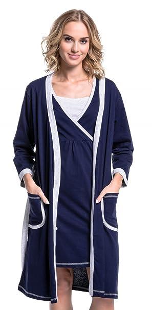 Para Mujer Camisón/Bata premamá Lactancia Venden por Separado. 772p: Amazon.es: Ropa y accesorios