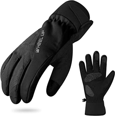 Thermal Liner Gloves Cycling Hand Protection Waterproof Winter Sport For Phone