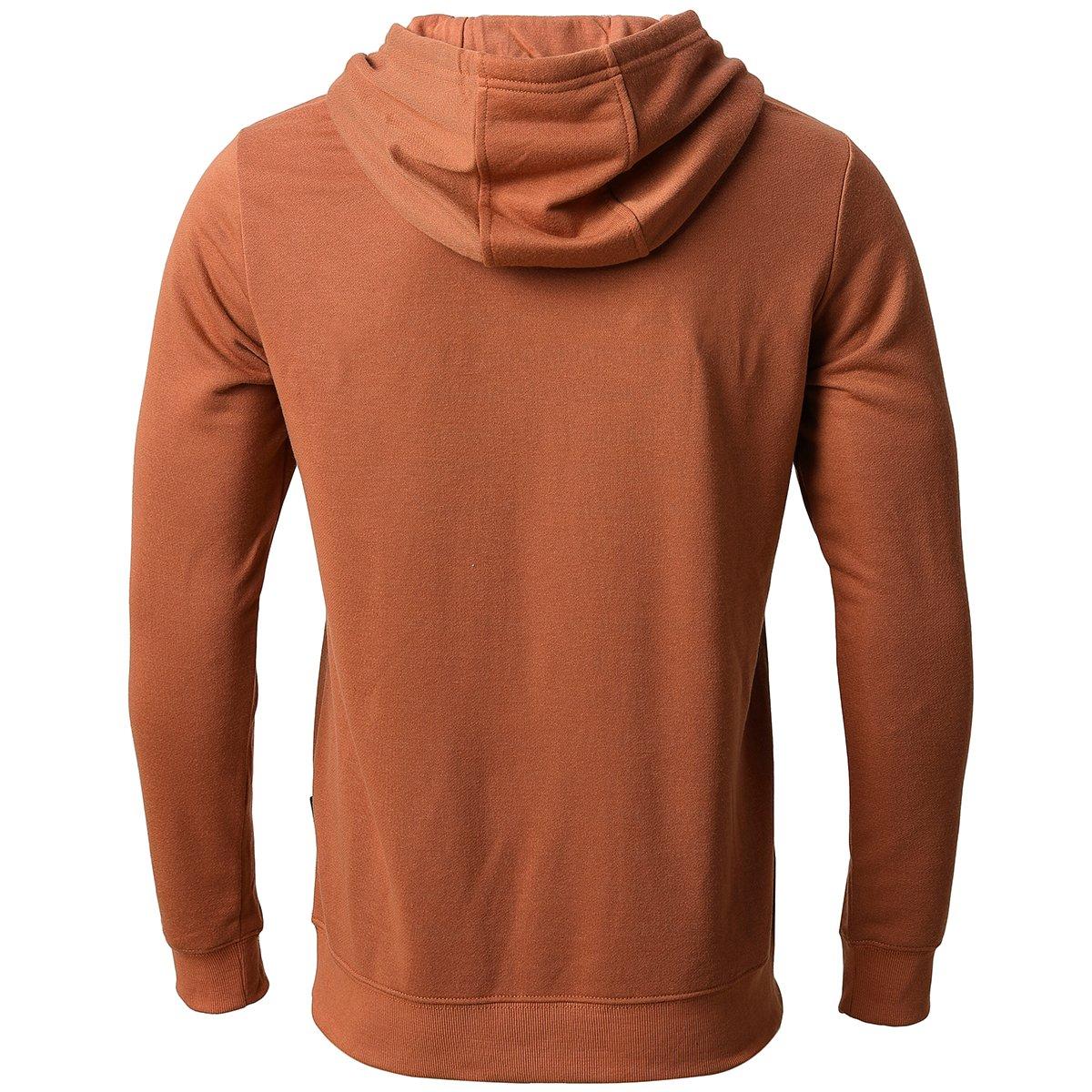Mens Casual Full Zip Hoodie Hooded Sweatshirt Cotton Blend Hooded Jacket