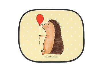 Auto Sonnenschutz Igel mit Luftballon PKW Farbe Gelb Pastell Panda Fenster /& Mrs Mr