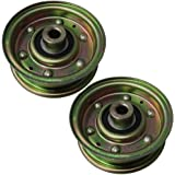 Set of 2 Flat Idler Replacement for MTD Cub Cadet 756-04224 Toro Mower 112