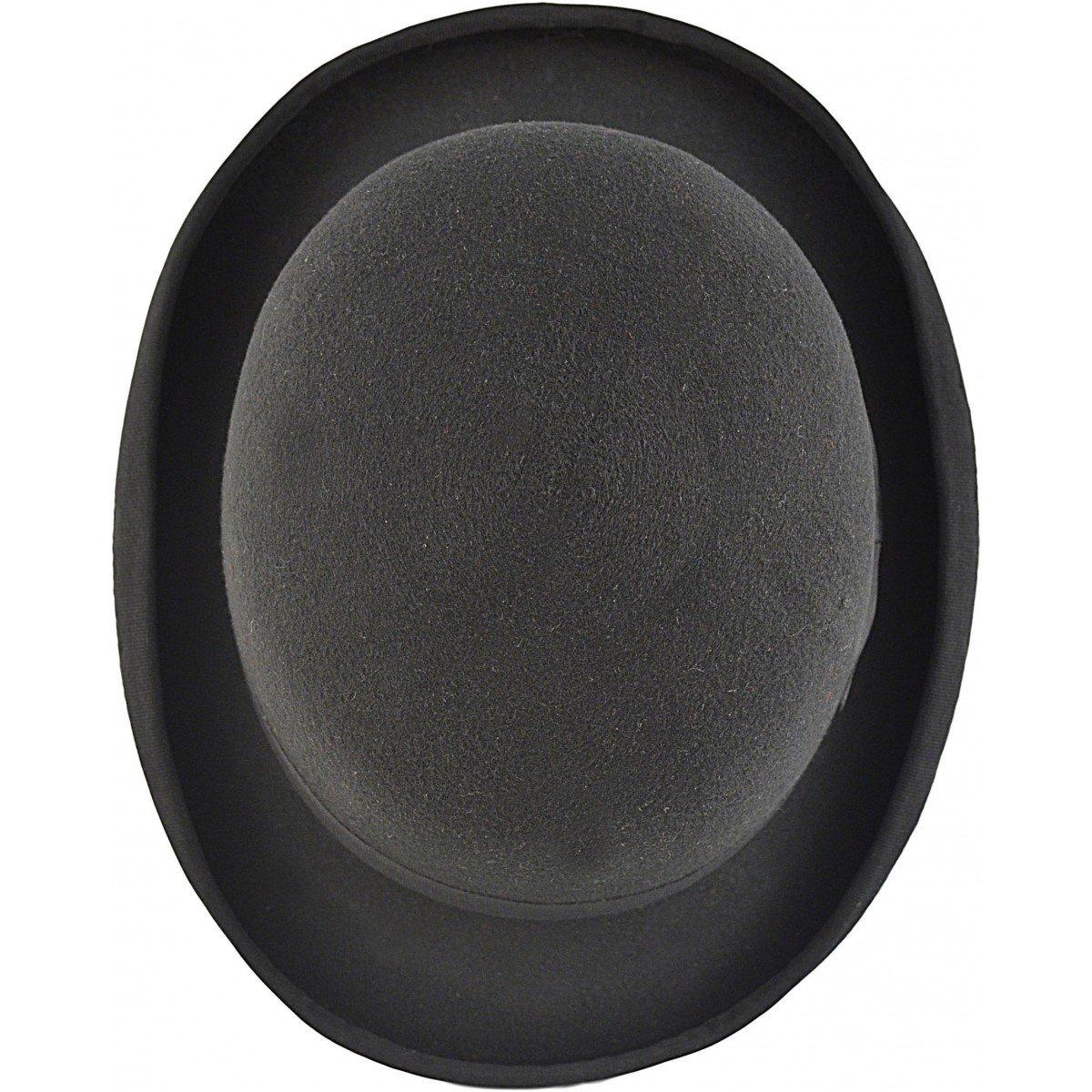 Express Hats Herren Melone schwarz schwarz