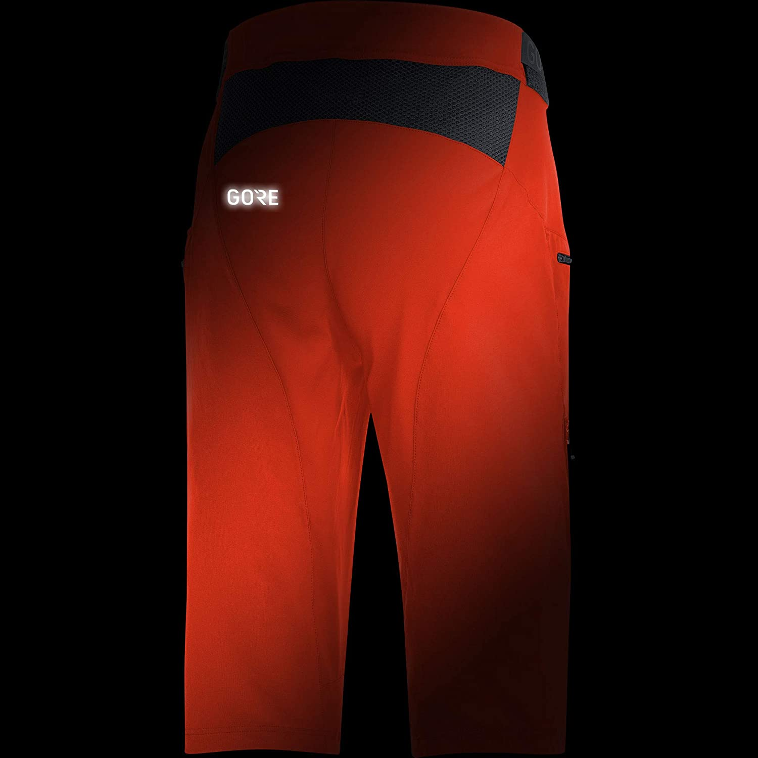 Gore Running Wear C5 All Mountain Short Homme Orange.Com Taille Fabricant : L FR : L