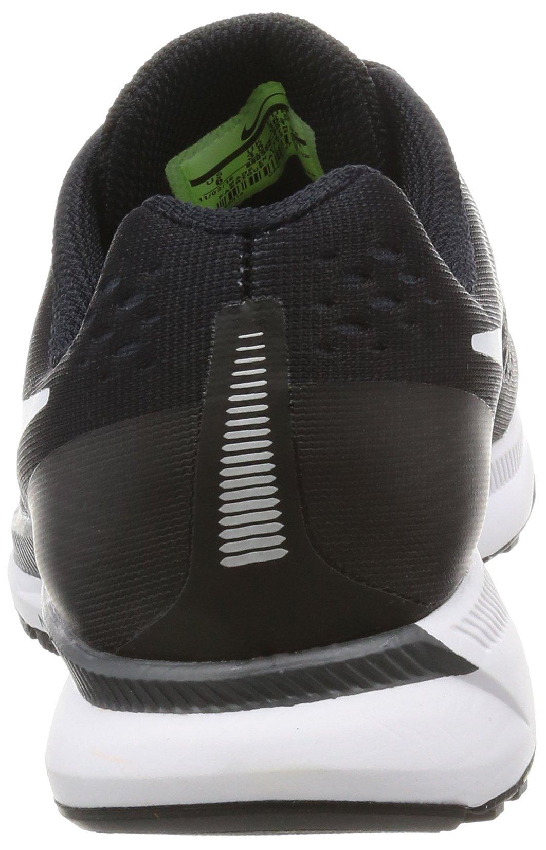 Nike Womens Air Zoom Pegasus 34 Black/White/Dark Grey/Anthracite Running Shoes (6) by Nike (Image #2)