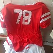My Other Me Me-202757 Disfraz de jugador de rugby para mujer, Color rojo, XL (Viving Costumes 202757