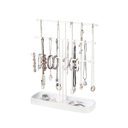 Amazoncom JackCubeDesign Metal 3 Tier Jewelry Display Stand Tree