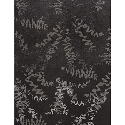 York Wallcoverings ET2023SMP Enchantment Foliage Toss Wallpaper Memo Sample 8 Inch X 10