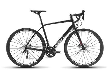 6d61a7fa63c Diamondback Bicycles Haanjo 4 Gravel Adventure Road Bike, Black,  50cm/X-Small
