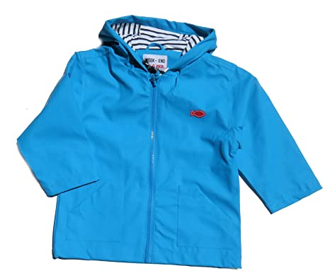 3f81a7119a21fe Week End à la Mer Baby Boys  Raincoat - blue -  Amazon.co.uk  Clothing