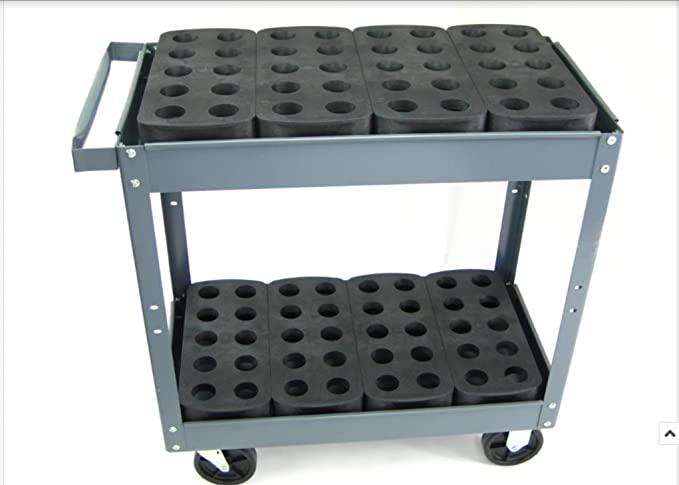 40 Taper Tooling Stand CAT BT40 NMTB40 Tool Holder Storage Rack Tray CNC NCH4-1i