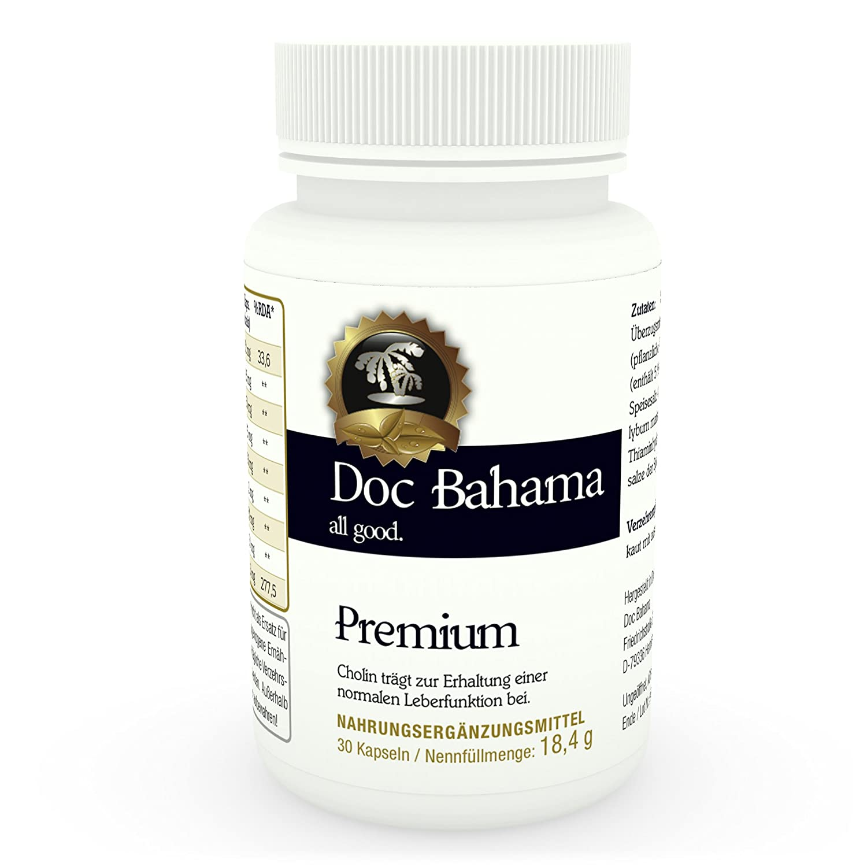 Doc Bahama Premium - Erhaltung der normalen Leberfunktion mit Cholin ...