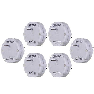 ECCPP 6Pcs X27 168 Stepper Motor Cluster Speedometer Tachometer Fuel Gauge Repair kit: Automotive