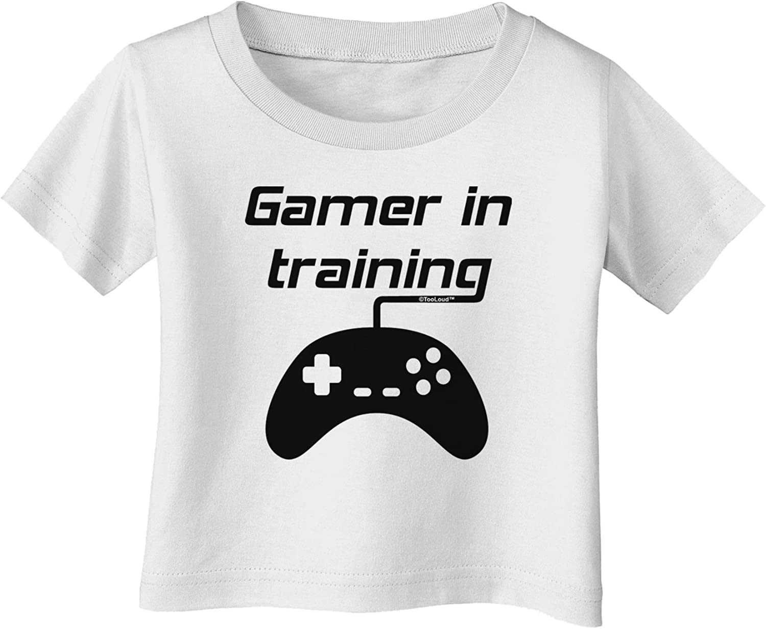 TooLoud Console Gamer Toddler T-Shirt Dark