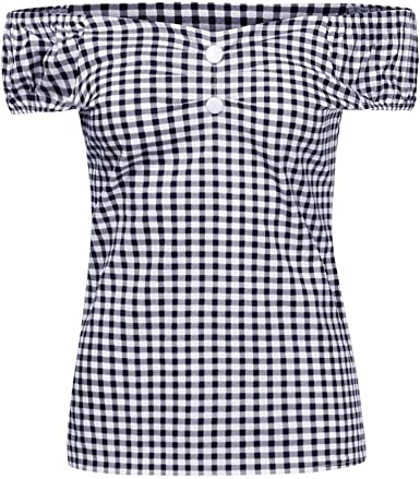 FAMILIZO Camisetas Mujer Verano Blusa Mujer Elegante Largo ...