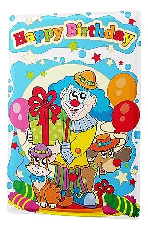 Plaque En Métal De Carte Danniversaire Joyeux Anniversaire Avec Le