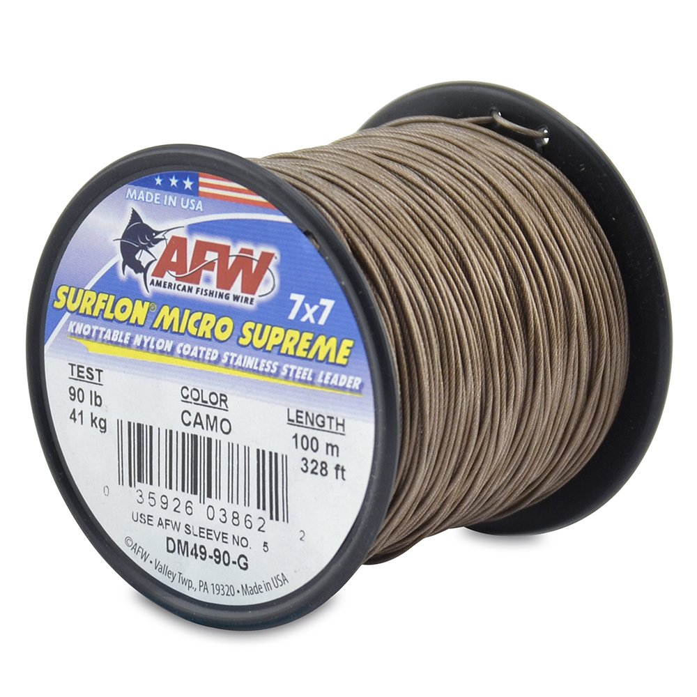 Amazon.com : American Fishing Wire Surflon Micro Supreme Nylon ...