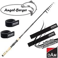 Angel-Berger Dam Shadow Tele Mini Spin Teleskoprute Spinnrute alle Modelle Rutenband