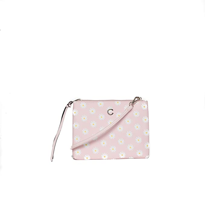 a2245b417f Carrera Accessori Borsa pochette rosa con zip da donna mod. CB301:  Amazon.it: Abbigliamento