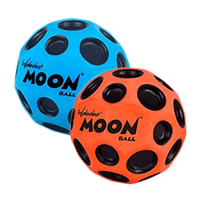 Waboba Moon Ball (Colors May Vary) 2 Pack: Toys & Games