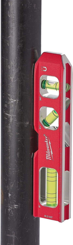 Red//Black Milwaukee 4932459097 Billet Torpedo Level