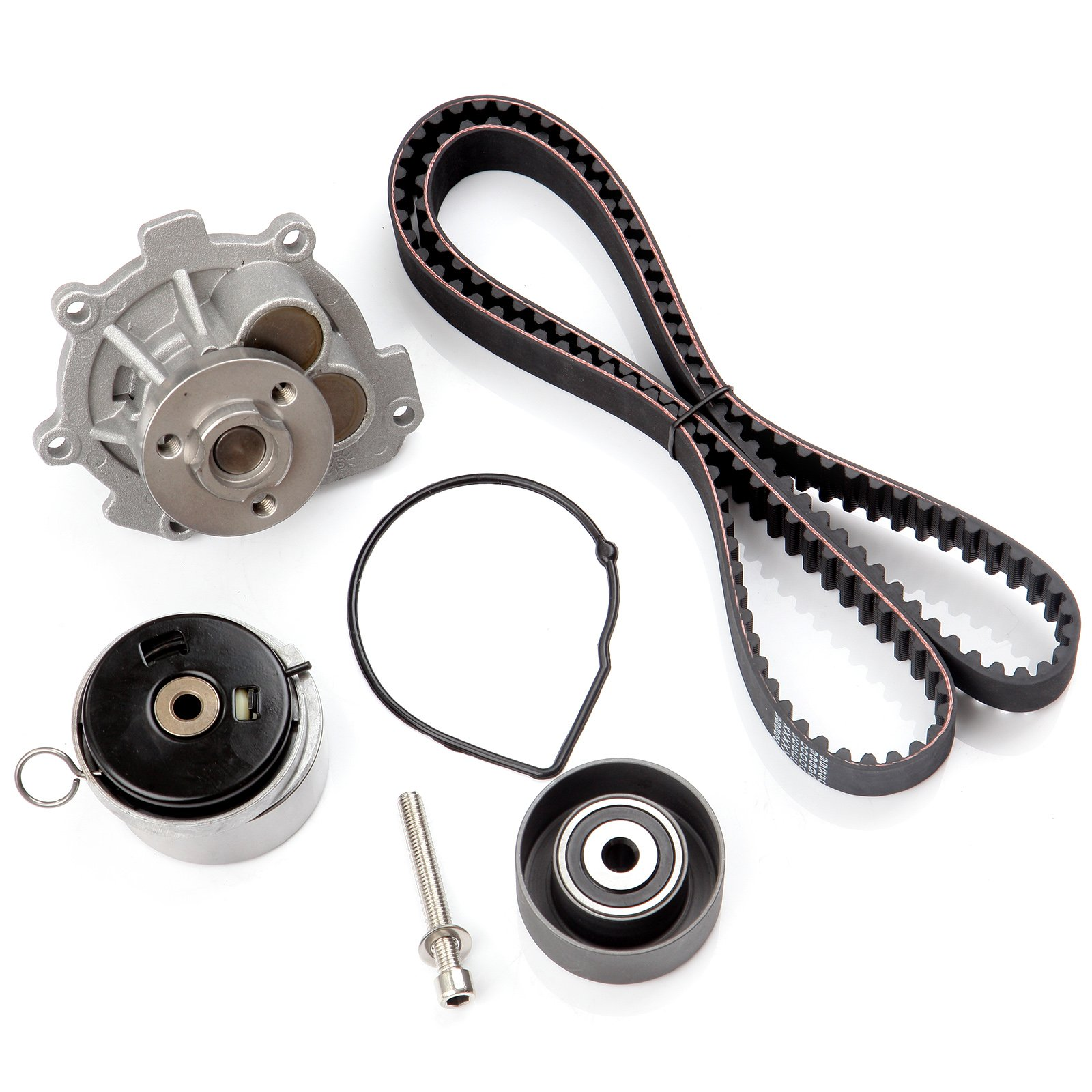 Scitoo Timing Belt Water Pump Kit Fit 2008 2014 Pontiac G3 Wave Chevy Aveo Cover Saturn Astra Suzuki Swift Chevrolet Cruze Sonic Aveo5 4cyl 16l 18l