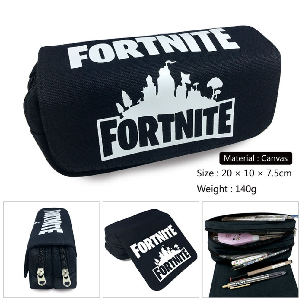 Gash Hao Fortnite Pencil Pen Case Student Office College Middle School Bag