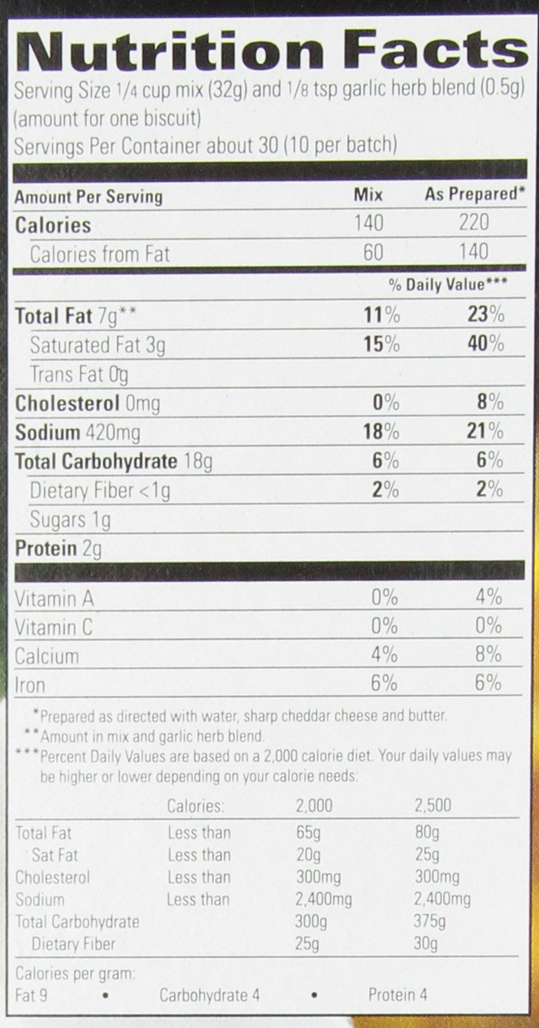 Amazon.com : Red Lobster Cheddar Bay Biscuit Mix - 40 biscuits ...