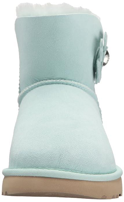 3e6ea201d8c UGG Women's Mini Bailey Button Poppy Fashion Boot