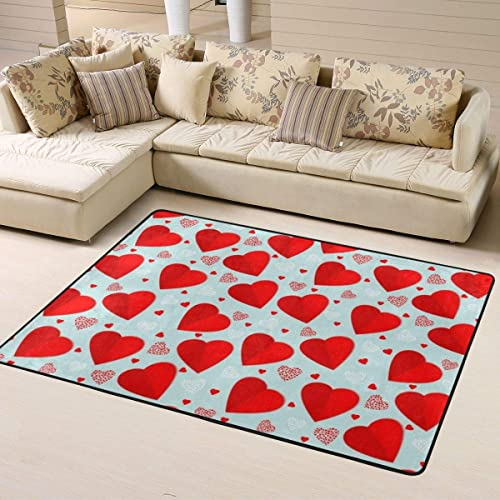 NiYoung Premium Super Soft Indoor Modern Contemporary Area Rugs Anti-Skid Machine Washable Carpet