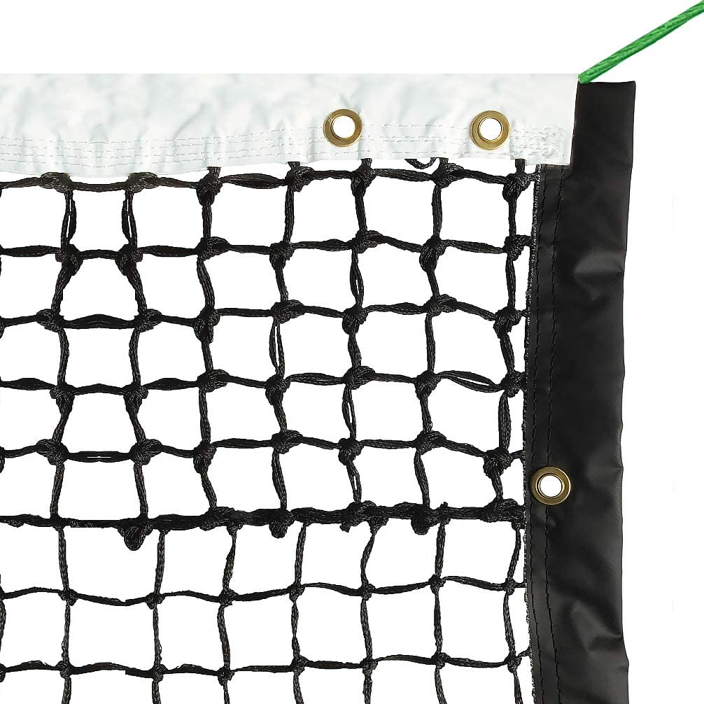Aoneky 42' Outdoor Replacement Professional Tennis Court Net - 4 mm Double Braided : Sports & Outdoors