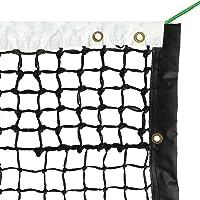 Aoneky Redes Reemplazo de Tenis, 33', Red para Cancha Profesional de Tenis, Trenzado Doble de 4 mm