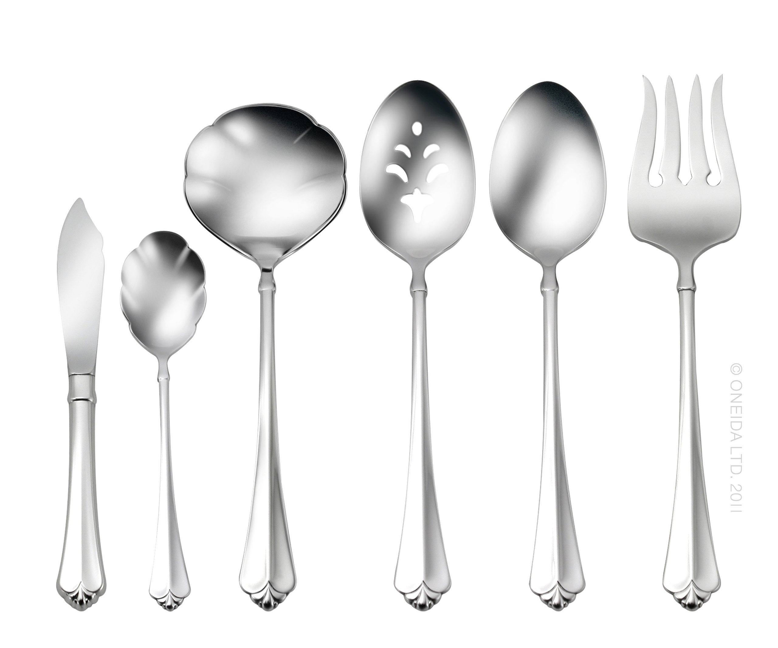 Oneida Juilliard 6-Piece Serving Set by Oneida