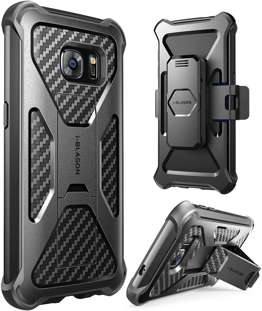 i-Blason Funda Galaxy S7 [Prime] Doble Capa Funda con Clip ...