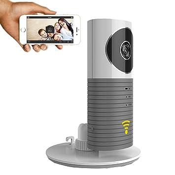 clever dog Wifi cámaras de seguridad inalámbrica/cámara de seguridad de vigilancia con P2P: Amazon.es: Bebé