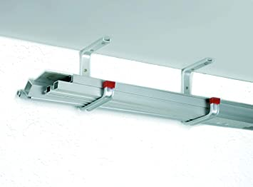 gerade Aluminium GAH-Alberts 805500 Wandhaken 90 x 160 mm // 10 St/ück