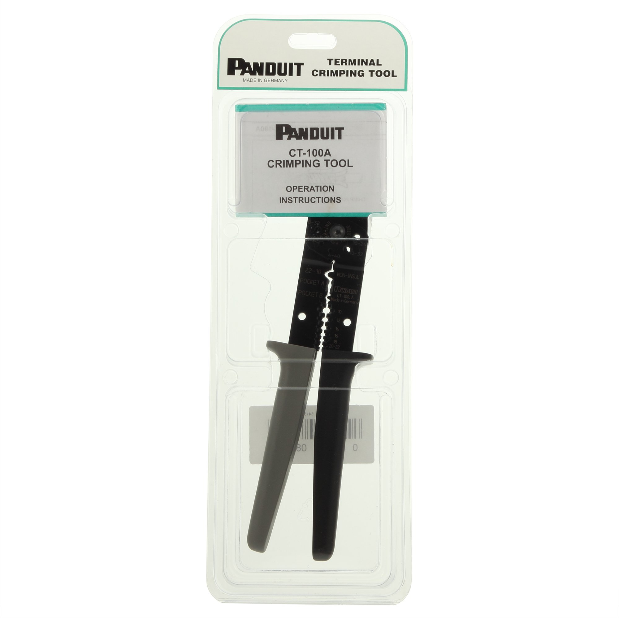 Panduit CT-100A Hand-Operated Plier-Type Crimp Tool
