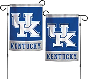 "NCAA University of Kentucky Wildcats 12.5"" x 18"" Inch 2-Sided Garden Flag Logo"