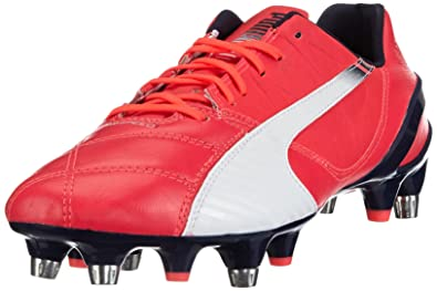 Puma 1 Evospeed Homme SgChaussures 3 Football Mixed Rouge Lth De KJ13TFlc